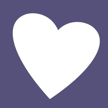 huwelijk foto in hart 3