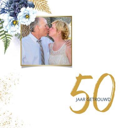 Huwelijksjubileum blauwe rozen 2