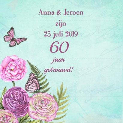 huwelijksjubileum hart rozen 2