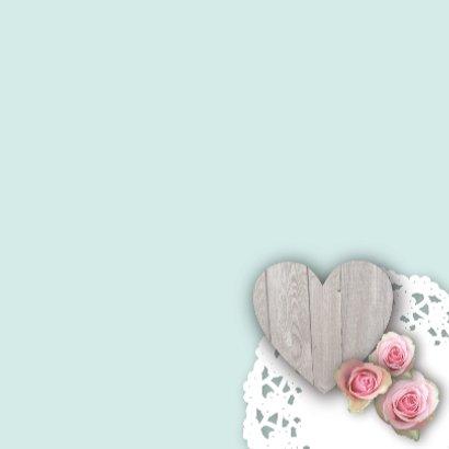 Huwelijksjubileum lief fotolijst rozen 3