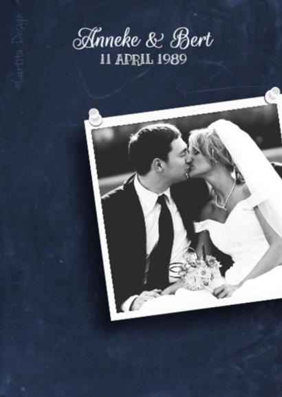 Huwelijksjubileum Schoolbord 2 2