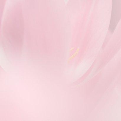 Jarig met roze tulpen 3
