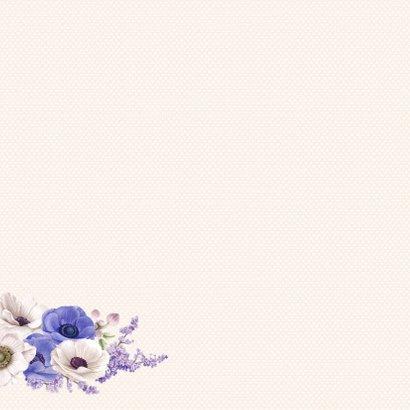 Jarigkaart anemonen 50 jaar 3