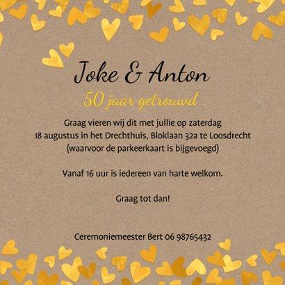 Jubileum 50 gouden hartjes 3