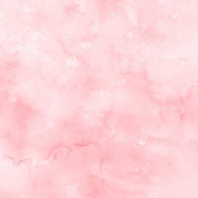 Jubileum flamingostel Achterkant