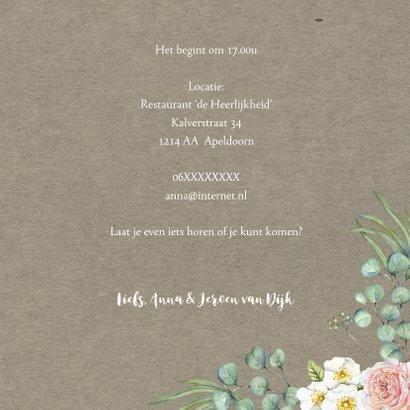 Jubileum rozen met eucalyptus 3