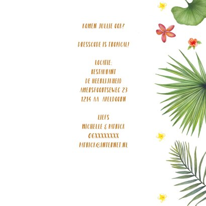 Jubileum tropical 3