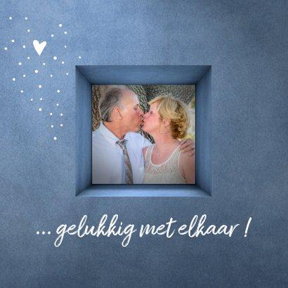 Jubileum uitnodiging 25 jaar gelukkig met elkaar 2