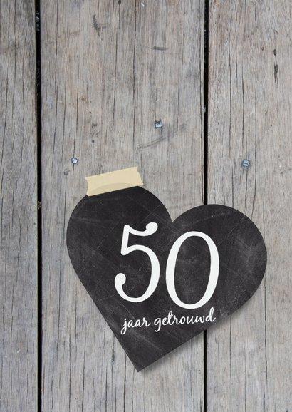 Jubileumkaart 50 jaar 2