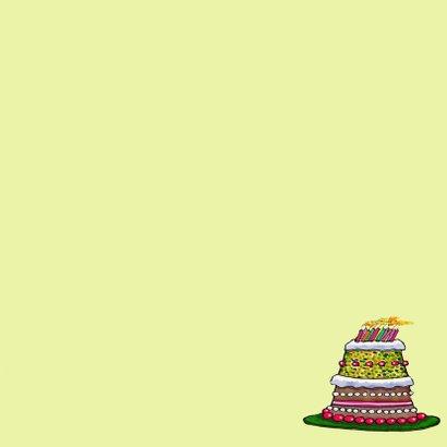Kaarsjes op de taart 3