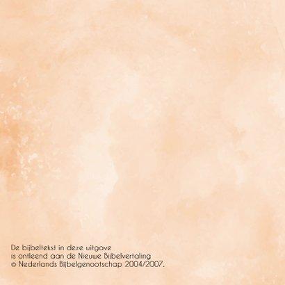 Kaart bloemenkrans, bijbeltekst naar keuze 2