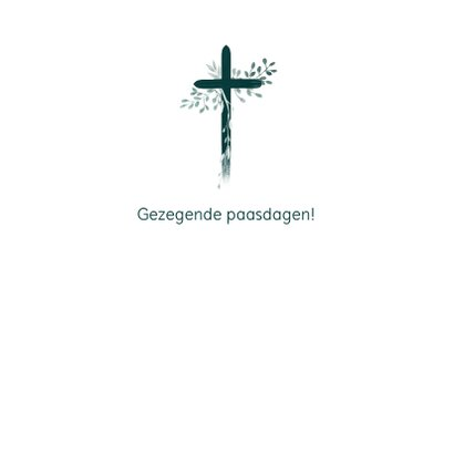 Kaart kruis opwekking Zegekroon 3