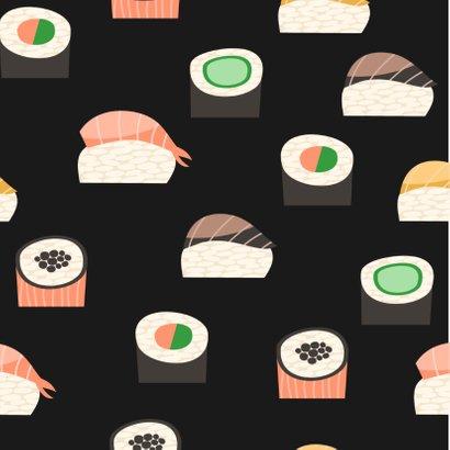 Kaart tegoedbon sushi eten 2