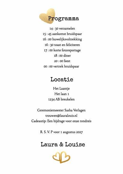 Kalender Mrs & Mrs goud - BK 3