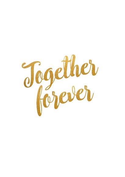 Kalender Together forever - BK 2