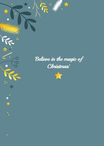Kerst - Botanisch met goud 2