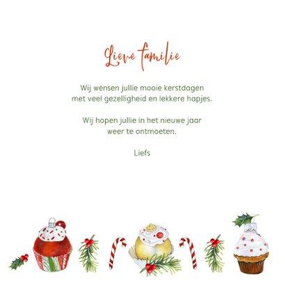 Kerst cupcakeornament 3