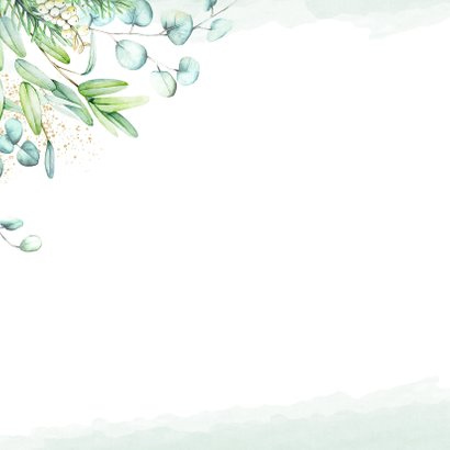 Kerst eucalyptusblad 2