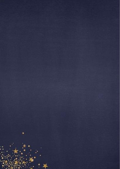 Kerst feestelijk fotokader van een grote ster met sterretjes 2