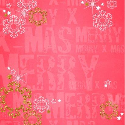 Kerst foto hip rood en glitters 2