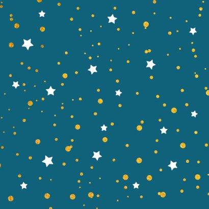 Kerst gouden lichtpuntjes met sterren 2