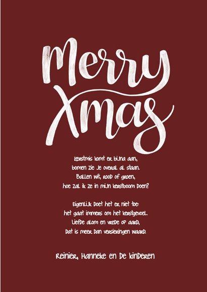 Kerst hot cocoa handgetekend 3