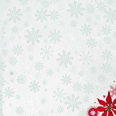 Kerst hout Hart Krans Bloemen 3