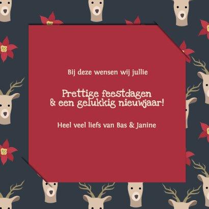 Kerst illustratie deer - DH 3