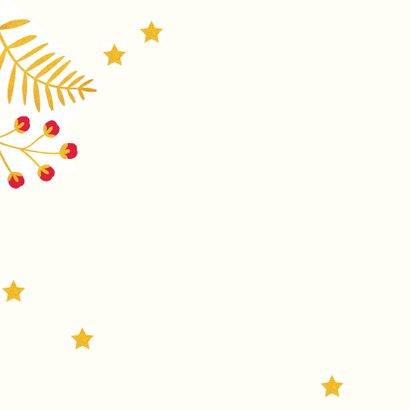 Kerst-items met veel goudlook en jaartal 2019 2