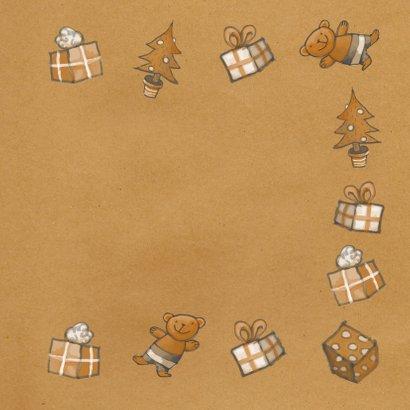 Kerst - Kerstman en cadeaus - MW 3