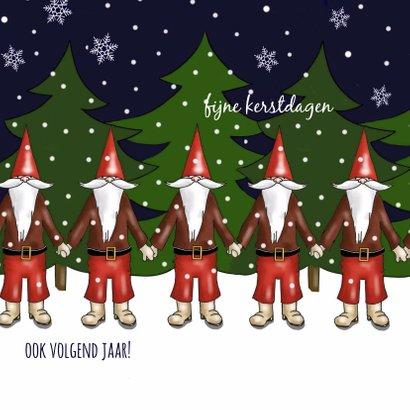 Kerst - kerstmannen team 2