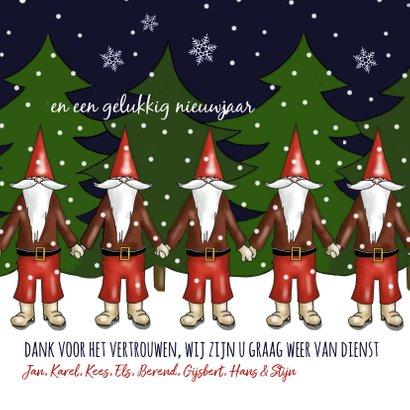 Kerst - kerstmannen team 3