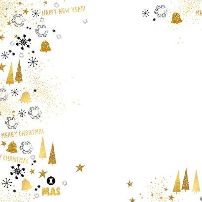 Kerst moderne foto kaart met feestelijke achtergrond  2