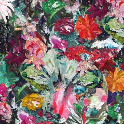Kerst nieuwjaar bloemen kunst eigen txt 2