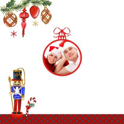Kerst notenkrakers kerstballen 2