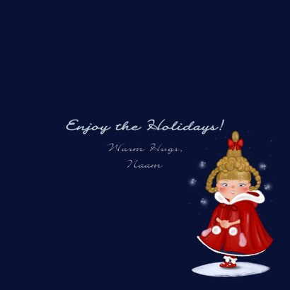 Kerst once upon a time christmas Cindy 3