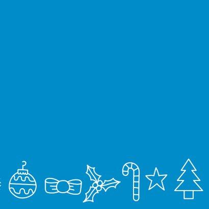 Kerst patroon kerstkaart 2