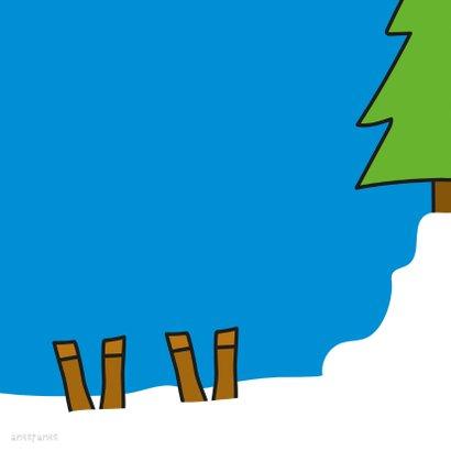 Kerst Rendier en Kerstman 2