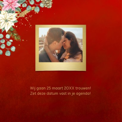 Kerst Save the date kerstster 2