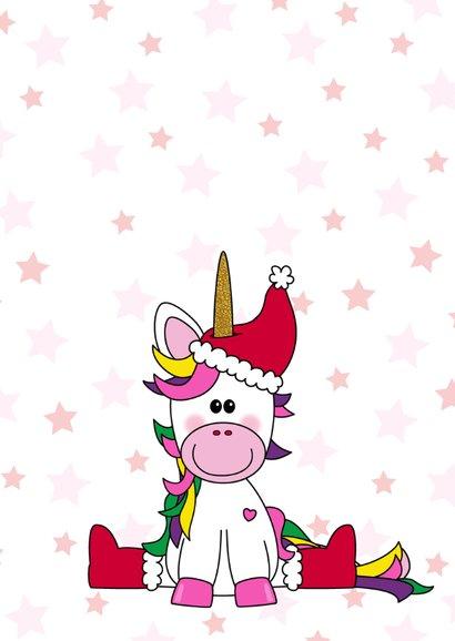 Kerst schattige eenhoorn knutselen  2