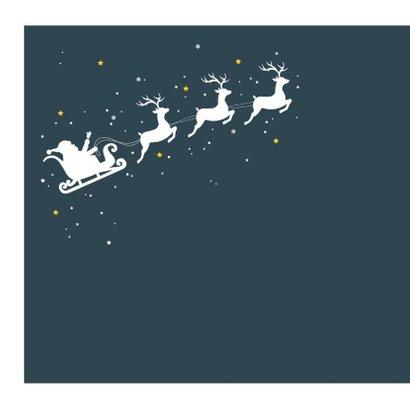 Kerst - Slee, rendieren en sterren 2
