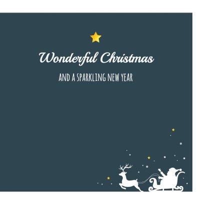 Kerst - Slee, rendieren en sterren 3
