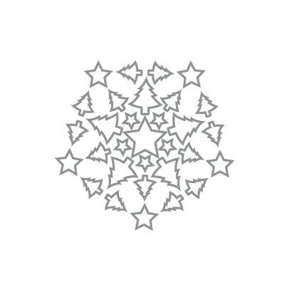 Kerst Sterren Bomen2 - HR 2