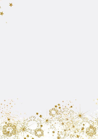 Kerst stijlvol fotokader sneeuw, sterren en twinkelingen 2