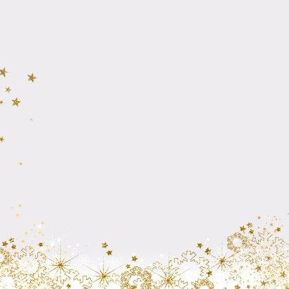 Kerst stijlvol fotokader sterren, sneeuw en twinkelingen 2