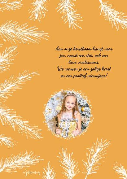 Kerst takjes fotokaart 2