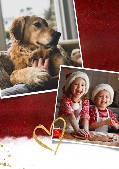 Kerst verhuiskaart fotocollage polaroids- happy new home 2