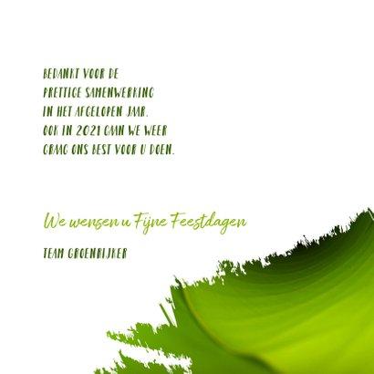 Kerst zakelijk samen werken aan een groen jaar 3