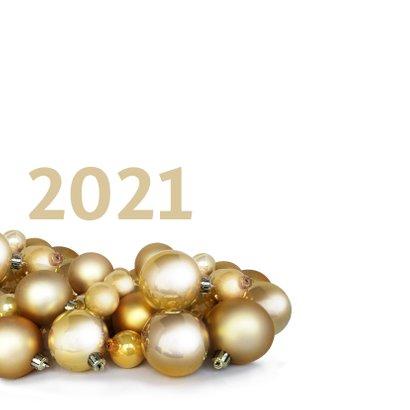 Kerstballen goud logo zakelijk 2021 2