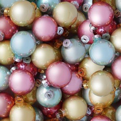Kerstballen pastel label logo boog 2021 Achterkant